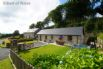 Private lane leading to 2 luxury self-catering cottages near Aberystwyth