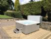 Hot tub in picturesque, peaceful surroundings