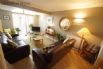 Living room on the top floor offers a lovely, spacious area to relax