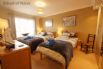 Bedroom 3 (also on the first floor) - ensuite with double and single bed