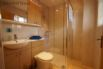 Ensuite includes a shower, wash basin, toilet and heated towel rail.