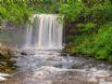 Great waterfall walks nearby