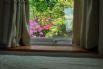 Family bedroom also has a view over the rear garden