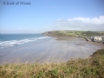 Broad Haven beach, 100 yards from your holiday cottage by the sea