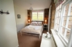 The double bedroom has ensuite shower room