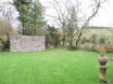 Pet friendly holidays - garden on the confluence of 2 small rivers