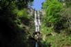 Nearby Pistyll Rhaeadr - the highest free falling waterfall in Britain.