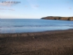 Enjoy an early morning swim at Aberdaron beach, 5 min walk from cottage
