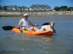 Newton Beach, 0.5 mile from this dog friendly self catering cottage