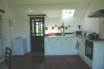 Fully fitted kitchen at Llety'r Dylluan Wen in Mid Wales countryside