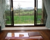 View from the sofa - framing the Berwyn mountains to perfection