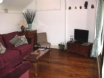 Living room with oak flooring, superior 3 seater sofa & lounge chair