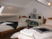 Twin bedded loft room with Skylight - most suitable for children