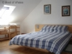 Double bedroom at this luxury holiday cottage in St Davids