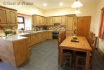 Aberystwyth self catering - fully equipped country style oak kitchen