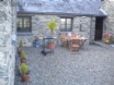 Yr Hen Efail holiday cottage, Mid Wales has 2 beautiful patio areas