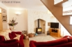 Self catering Swansea Valley - cosy fireplace