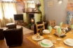 Beautiful South Wales holiday cottage - cosy lounge & dining room