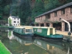 The Monmouthshire and Brecon Canal  towpath  walk