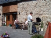 Maes y Gwy Holiday Cottage nr Chepstow, - BBQ area