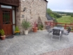 Maes y Gwy holiday cottage, Monmouthshire - Patio area
