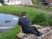 Self catering Monmouthshire cottages - feed the ducks at the pond