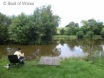 Perfect for a fishing holiday in Wales - lake stocked with various fish
