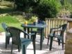 Y Llaethdy Capel Dewi, Ceredigion  - rear terraced area