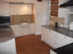 Self catering Betws y Coed - spacious kitchen with TV