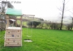Brecon Beacons Self catering Holiday Lodge - climbing frame