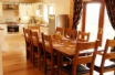 Brecon Beacons Holiday Cottage  - dining table