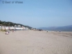 Long sandy beach at Aberdyfi - pefect for a family holiday