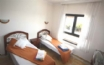 Twin Bedroom which overlooks the swimming pool