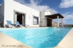 The inviting heated swimming pool at Casa Olivia