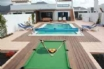 Set the pool balls up ready to find the Holiday Pool Champion