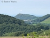Far reaching views towards Aberystwyth and the coast