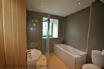 Main bathroom with separate shower