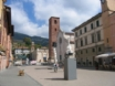 Pietrasanta old town centre, a short walk from the property