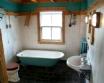 An Rhubha Cottage Easdale Island Scotland - bath