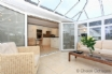 A magnificent conservatory, which acts as a second lounge