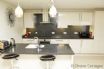 Contemporary kitchen, very well equipped.