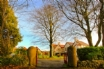 The gates to BEAFORD COUNTRY HOUSE