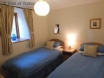 Twin bedroom includes wardrobe, chest of drawers & bedside cabinet