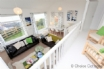 Galleried landing creates a feeling of space