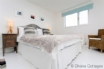 Chic double bedroom with fantastic views