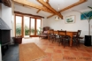 Character property with beams, wooden & tiled flooring
