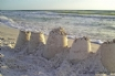 Sandcastle competitions on the beach!
