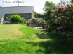 Lovely lawn area with seating, barbecue set, countryside & sea views