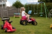 Grassed area shared with Clamshell, ideal for kids
