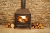 Llanwrtyd Wells accommodation - wood burner